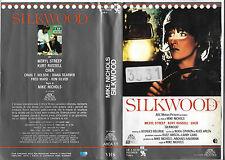 SILKWOOD (1983) vhs ex noleggio