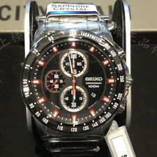 Seiko Criteria Chronograph Stainless Steel Men's Watch SNDF51P1