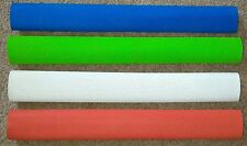 4x Diamond Cricket Bat Grips - WHITE, RED, BLUE & FLURO GREEN