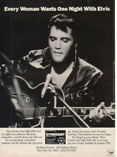 Elvis Presley-One Night With You 1986 Ad-Every Woman Wants One Night With The