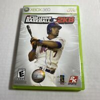 Major League Baseball MLB 2K8 Xbox 360 Video Game Free Ship Complete