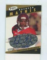 RASHEAN MATHIS 2003 Sage Hit Rookie Auto Autograph #D /250