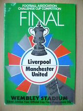 1977 FA Cup FINAL- LIVERPOOL v MANCHESTER UNITED