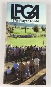 1978 LPGA Golf Players Guide - 256 Pages