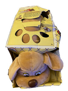 """Pound Puppies Classic 80's Collection Large 15"""" Light Brown Puppy NIB"""