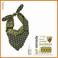 Luxury Dog Bandana clothing Calming Kit – 4 sizes Pet Remedy - Dogfoods4u