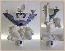 Rudolf Sitte - Abstraktes Gebilde mit Fo-Hund - Porzellan Kunst 1980er/90er- xz