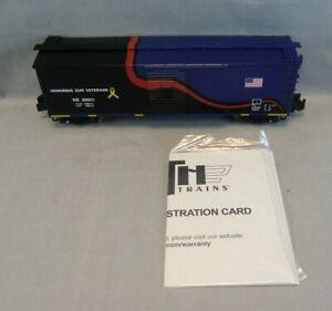 MTH/Railking S Gauge #30-74715 NS Veterans 40' Rebuilt Steel Box Car