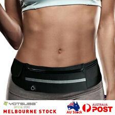 Black Water Resistant Wallet Travel Waist Bag Sport Hiking Running Bum Belt Bag