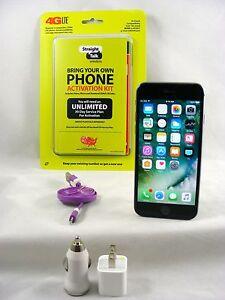 Apple iPhone 6 - 128GB Gray(Verizon/Straight Talk Activation Nano SIM card)