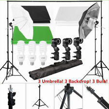 2*3 Meters Backdrop Background Holder With Umbrella Photography Equipment Set