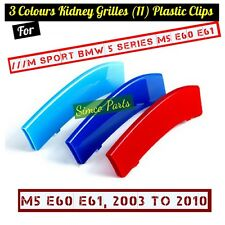 3D 3 Colours Kidney Grille ABS Covers for ///M Sport 5 Series E60 2003-2010