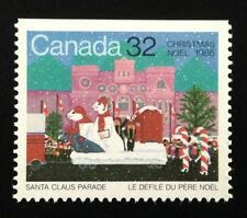 Canada #1070 Top MNH, Christmas - Santa Claus Parade Stamp 1985