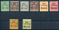 MADAGASCAR 1895 Yvert 14-21 * gute WERTE 920€(Z0636