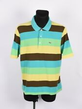 Lacoste Multicolored Men Polo Shirt Size 7
