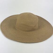 ece45076 Peter Grimm Outdoor Sun Hat Floppy One Size Light Beige Fibre Beach Cruise