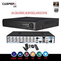 CCTV 16 Channel AHD 1080P DVR H.264 2.0MP Digital Video Recorder P2P HD VGA HDMI