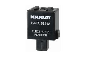 Narva Flasher Electronic 12V 3 Pin 68242BL fits Toyota Land Cruiser 70 Series...