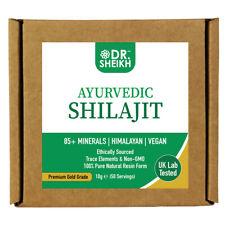 DrSheikh Ayurvedic Shilajit - Sun-Dried, Himalayan, Gold Grade (10g)