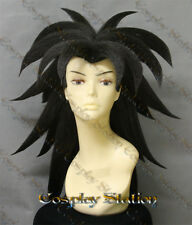Broly Black Custom Made Cosplay Wig_commission875