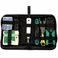 Network Cable Repair Maintenance Tool Kit Set 11 in 1 Portable Phone Cable