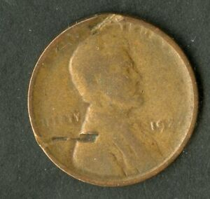 US Coin 1922 Plain Lincoln Wheat Cent NO RESERVE!
