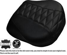 Diamond Negro St Personalizado se ajusta Harley brakeout 13-16 Cubierta de asiento trasero estándar