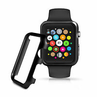 Aluminium Hülle + Displayschutz, Alu Case + Screenprotector, Apple Watch Bundle