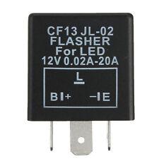 NEW LED FLASHER UNIT RELAY INDICATORS 12V FOR LED LIGHT TURN SIGNAL 3 PIN