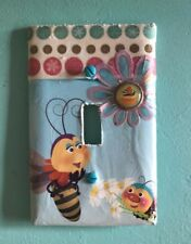 Super Cute Bumblebee Single Light Switch Cover