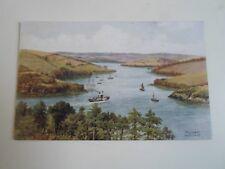 A R QUINTON Postcard 2396 SALCOMBE, THE ESTUARY  Unposted  §A2377