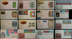 GB 1969 - 2009 FDC Prestige & Normal Booklet Pane & Coils From .99p Multi