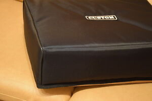 Custom padded cover for ELEKTRON Digitakt - with rear cut for the cables