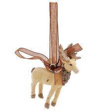 clayre & eef Decoración para árbol de navidad ciervo Shabby Casa Rural
