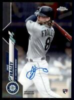 2020 Topps Chrome Rookie Auto #RA-JF Jake Fraley RC - Seattle Mariners