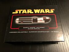 Master Replicas DARTH VADER Star Wars LIGHTSABER .45 scale sw-316 epiii rots '05