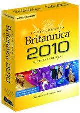 Encyclopedia Britannica 2010: Ultimate Edition (PC/MAC DVD-Rom)