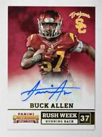 2015 Panini Contenders Draft Picks Rush Week Autographs #9 Buck Allen Auto