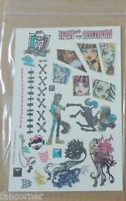 Monster High tatouages bracelet Comic Con 2014 Monster High comic con promos