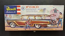 "V.RARE REVELL ""S"" CEMENT FORD COUNTRY SQUIRE  ORIGINAL ISSUE COMPLETE H-1220-149"