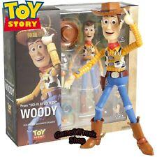 Figura Woody TOY STORY 16 cm Disney Revoltech Figurine