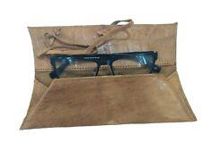 Leather Cover Sunglasses Eyeglasses Case New Protective Handmade Unisex