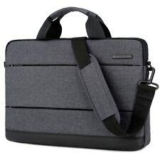 """15.6"""" Laptop Shoulder Bag Lightweight Messenger Sleeve Case Cover Handbag Black"""