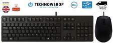 Dell Keyboard & Mouse USB Wired QWERTY UK Layout cheap dell mouse keyboard set