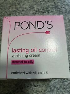 PONDS VANISHING CREAM LASTING OIL CONTROL 100ML (FREE DELIVERY)