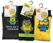 "Men/'S Ex Store /""MINION/"" 1 Pack Calzini"