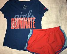 Nike 4 Shirts & 2 Shorts Lot Sz S