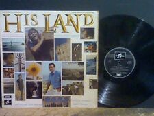 HIS LAND  Soundtrack    LP    Cliff Richard and Cliff Barrows    RARE !!