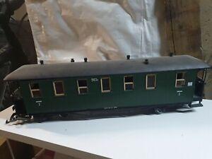 LGB sächsischer Personenwagen 563k - 30350 mit Beleuchtung #1