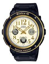 Casio Baby-G * BGA151EF-1B Gold & Black Anadigi Watch Women COD PayPal